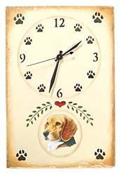 Beagle Clock