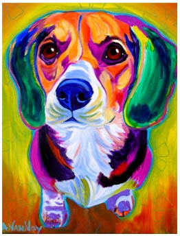 Beagle Pop Art