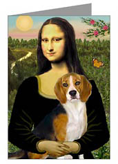 Mona Lisa Beagle