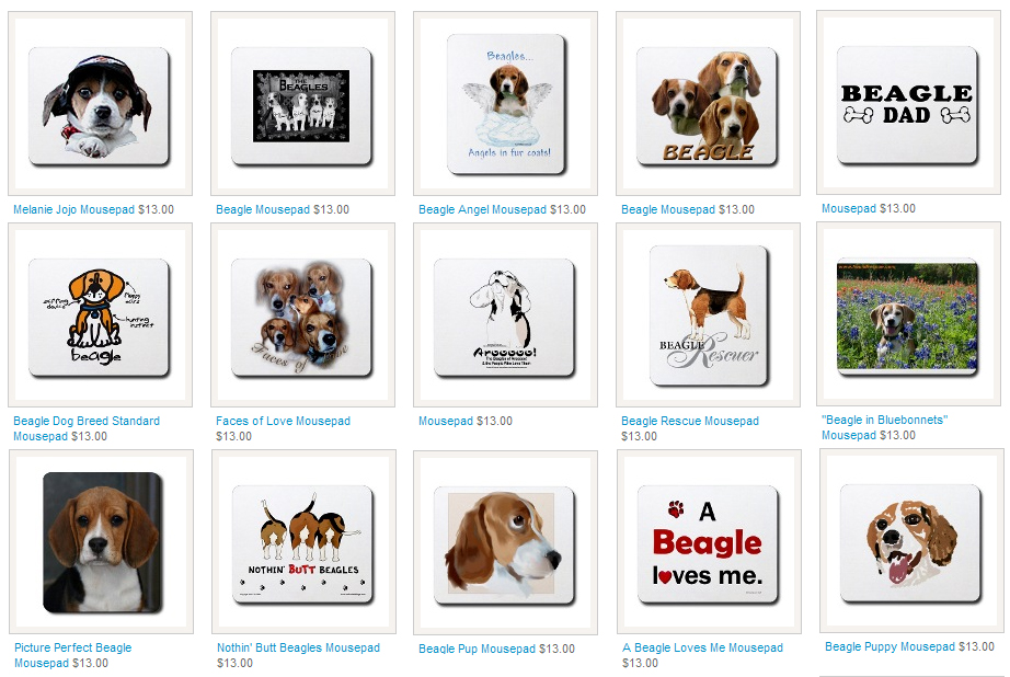 Beagle Mousepads