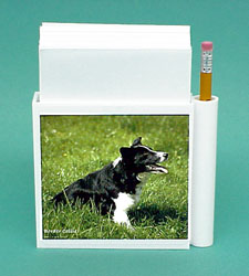 Border Collie Stationery