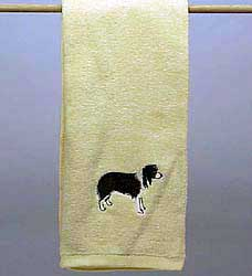 Border Collie Towel