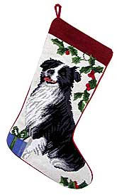 Border Collie Stocking