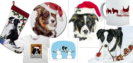 Christmas Gifts Borders Border Collies And Christmas