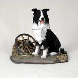 border collie figurine