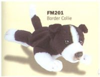 plush border collie