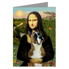 Boxer and Mona Lisa