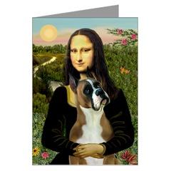 Boxer and Mona Lisa