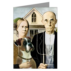 Dawgart Collection American Gothic Boxer