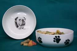 bulldog Pet Bowl