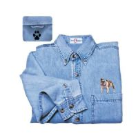 Bulldog Denim Shirt