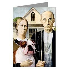 American Gothic & English Bulldog