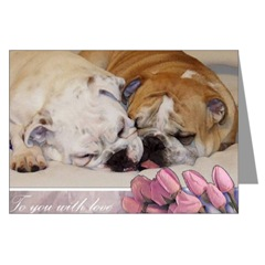 English Bulldogs Love