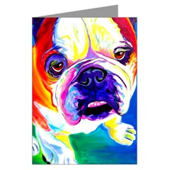 English Bulldog Greeting Cards