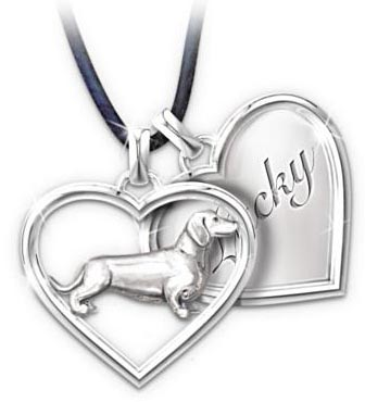 ... Jewelry - Best Friends Forever Personalized Dachshund Pendant Necklace