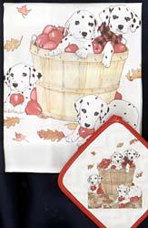 Dalmatian Dish Towel