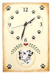 Dalmatian Clock