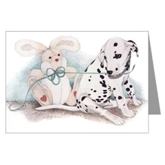 Dalmatian Puppy Cards