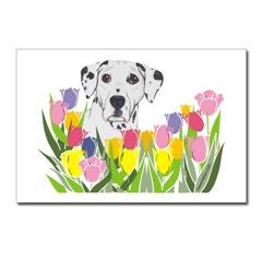 Dalmatians Dog Art