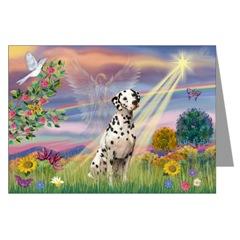 Dalmatian Pet Sympathy Cards