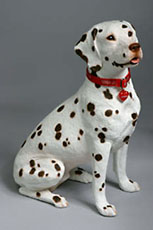 dalmatian sandicast sculpture
