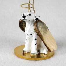 Dalmatian figurine angel