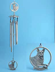 German Shepherd windchime