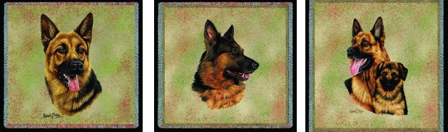 German Shepherd Lap Square