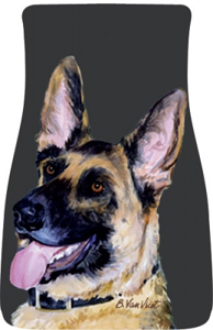 German Shepherd Car Mats