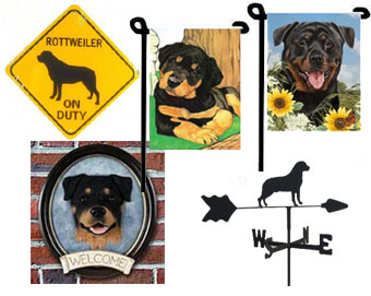 Rottweiler outdoor decor