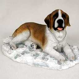 Saint Bernard My Dog Figurine