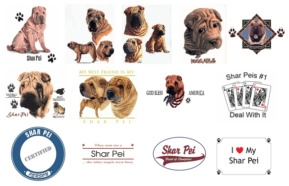 Shar-Pei T Shirts and Sweaters