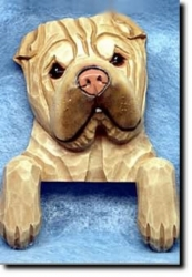 Shar Pei Door Topper