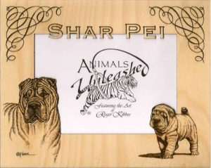 Shar Pei Picture Frame Mattes