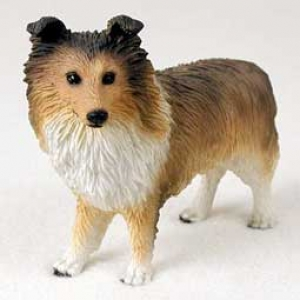 Sheltie Sable Figurine
