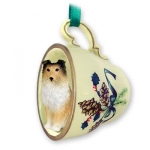 Sheltie Tea Cup