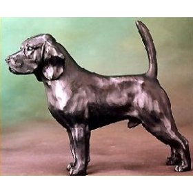 Charmant Beagle Hound Sculpture