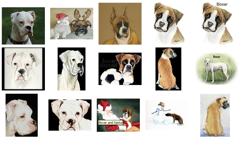 The Boxer Shop - boxer dog gifts and collectibles