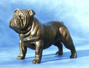 Boxer Dog Sculpture Dannyquest Bulldog