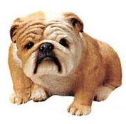 Bulldog Sculpture Figurines And Sculptures