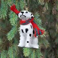 The Dalmatian Shop - Dalmatian Christmas Cards and Ornaments