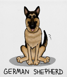 The German Shepherd Dog Shop T Shirts Sweatshirts