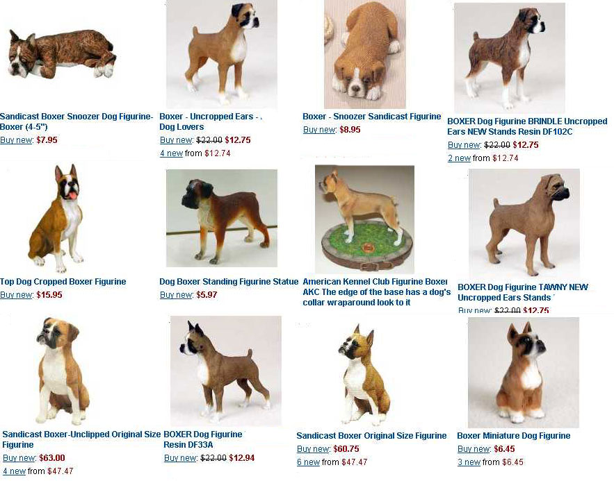 The Boxer Shop - Figurines, Sculptures, Miniatures